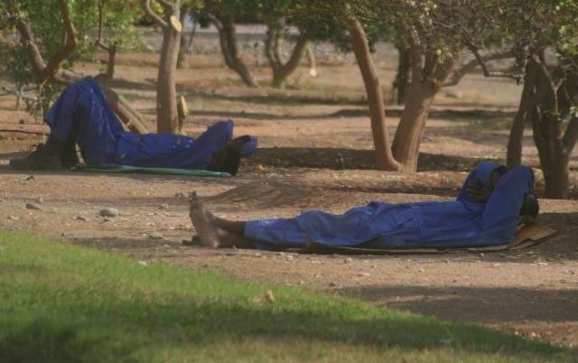 siesta time in Oman