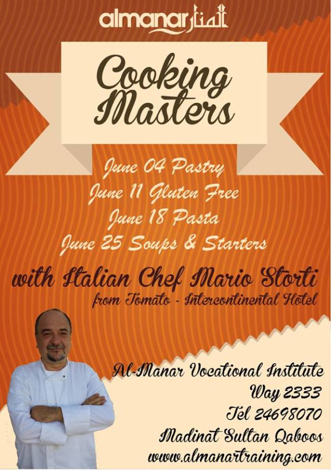 cooking classes Muscat