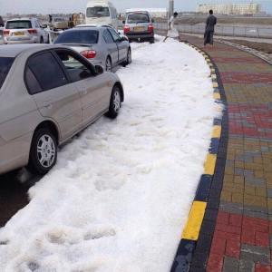 hailstorm Oman